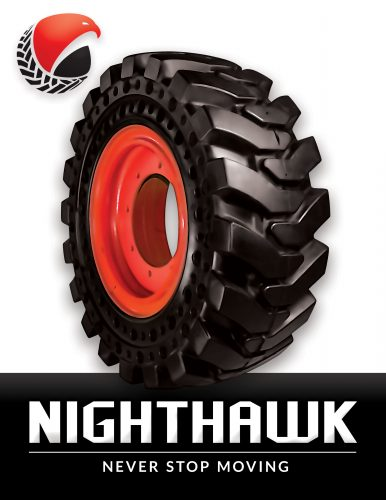 Nighthawk Dura-Flex 33×12-16 Quarter Bobcat