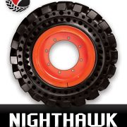 Nighthawk Dura-Flex 33×12-16 Side Bobcat